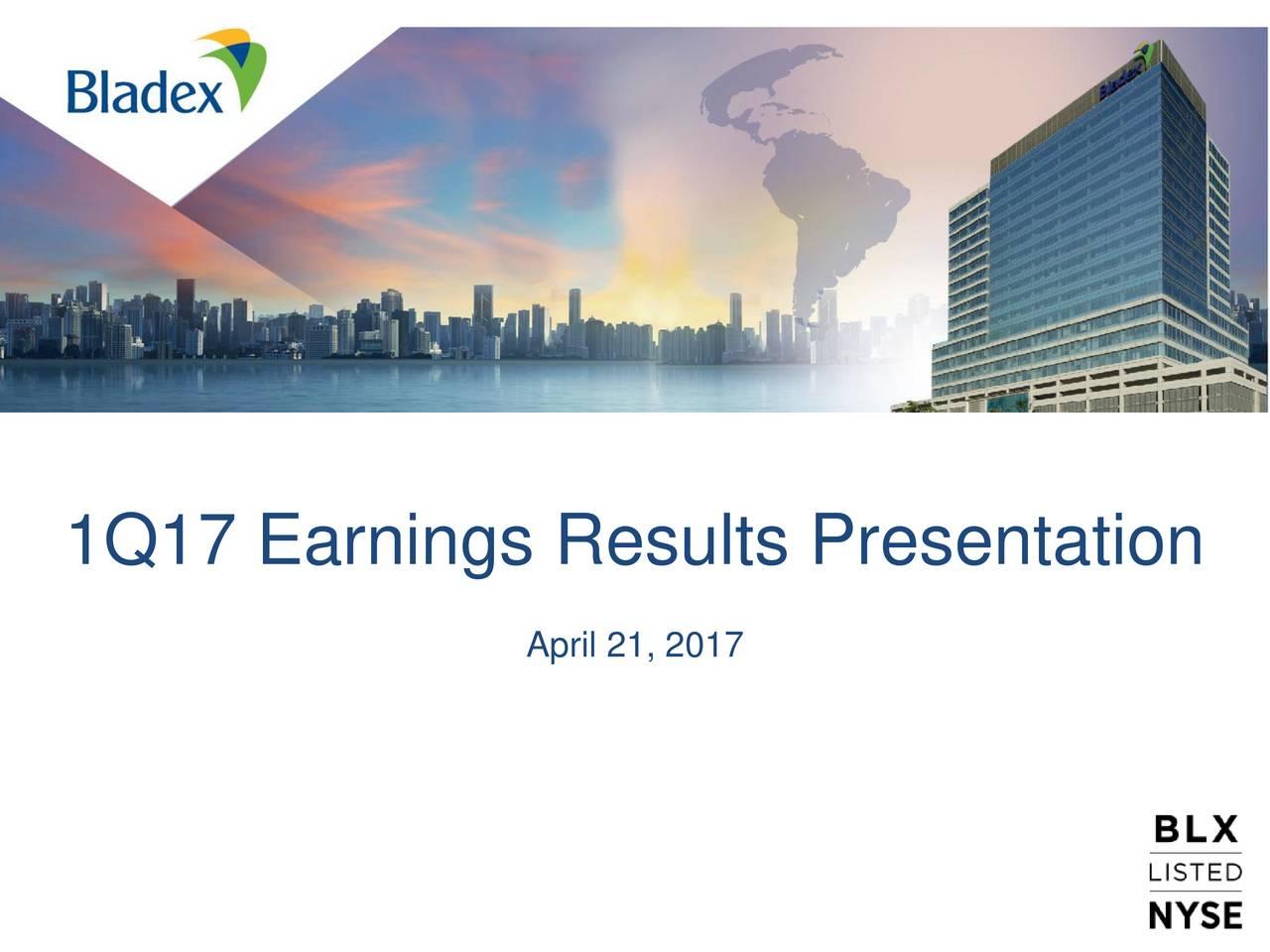 Banco latinoamericano de comercio exterior s a 2017 q1 for Comercio exterior